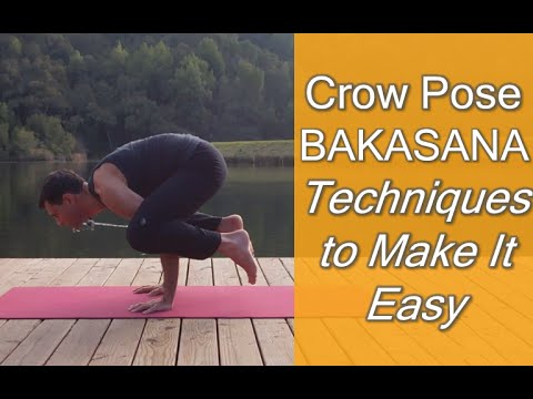 crow pose  bakasana techniques to make it easy  youtube