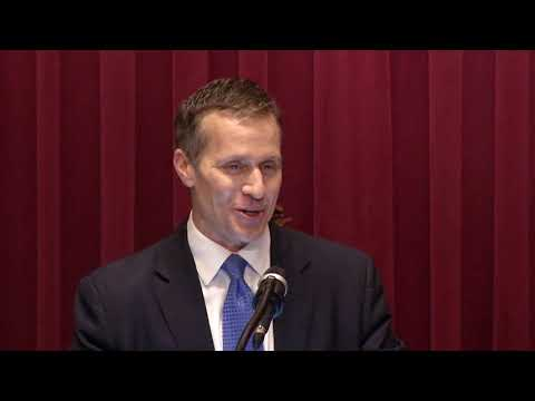 Missouri Governor Eric Greitens Delivers 2018 State of the State Address