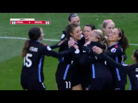 GOAL: Sofia Huerta scores a long-distance goal