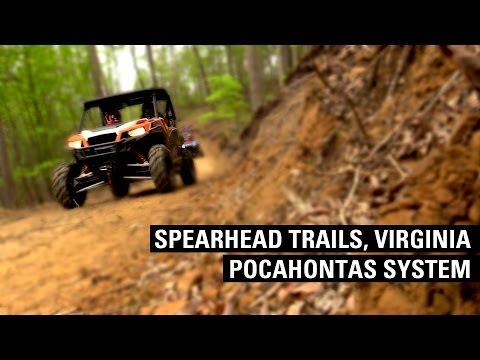 Spearhead Trails, Virginia - Original Pocahontas Trail System In Our Polaris General 1000 SXS