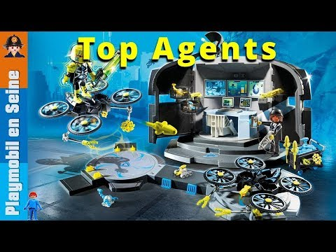 playmobil top agents 4k youtube. Black Bedroom Furniture Sets. Home Design Ideas