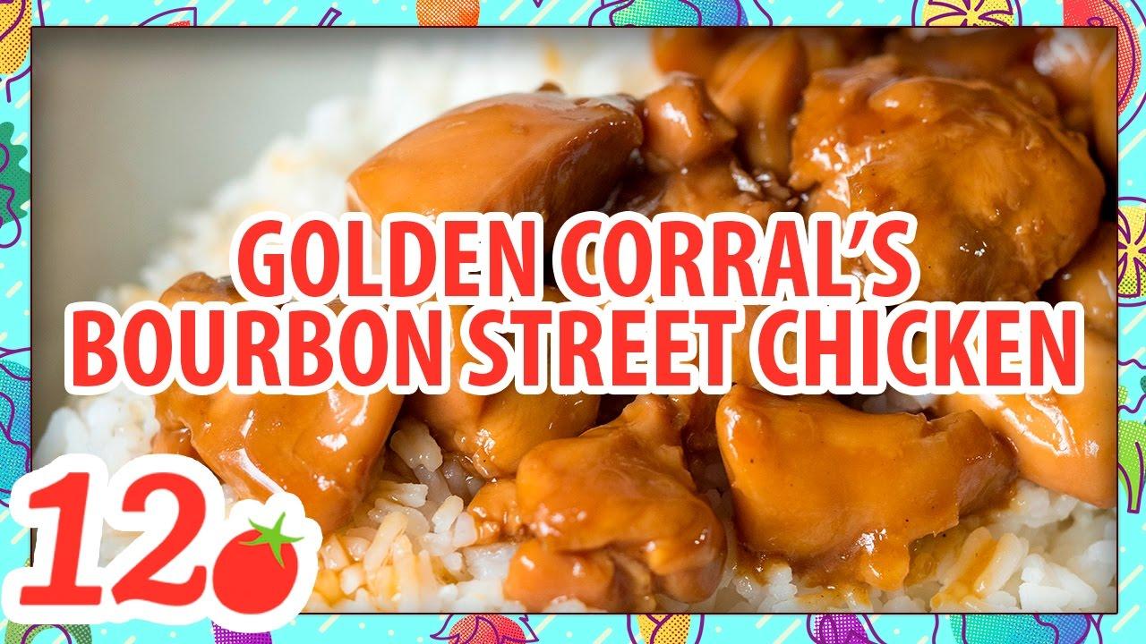 Golden Corral S Bourbon Street Chicken Youtube