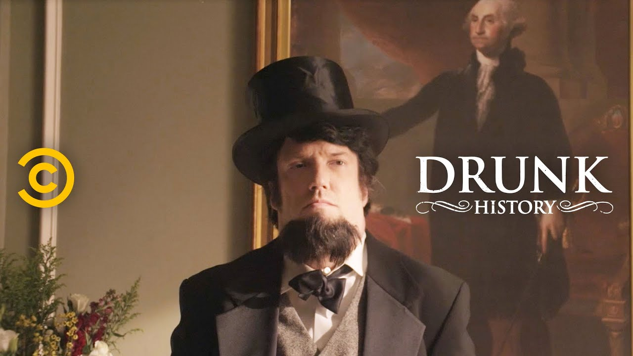 Abraham Lincoln Surprises People with His Lawyer Skills - Drunk History