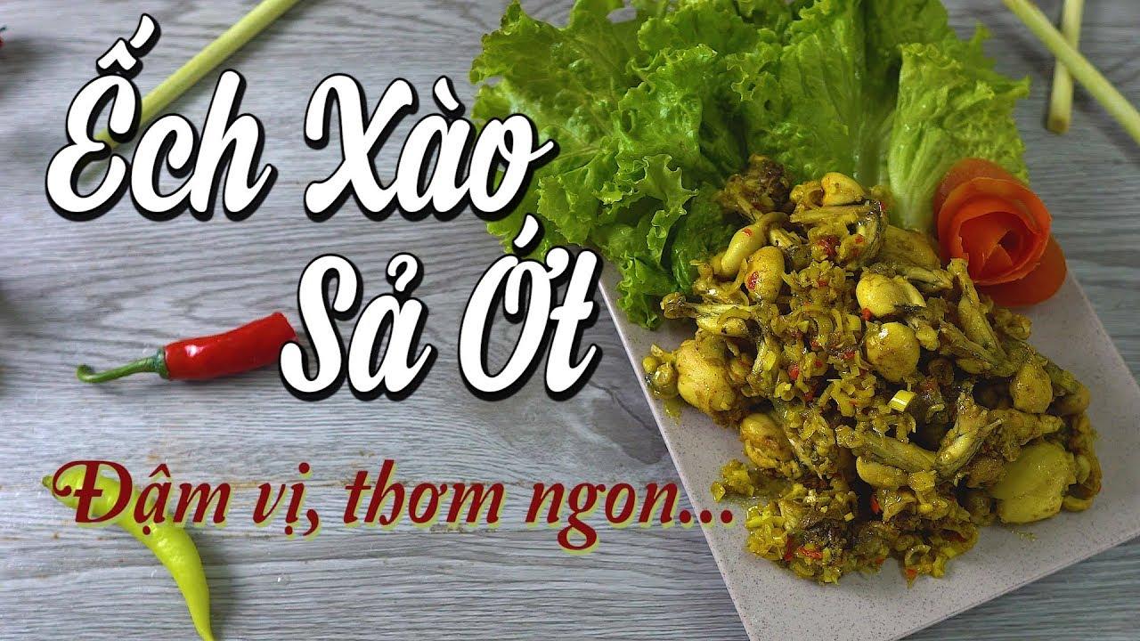 Ếch xào sả ớt – Cách chế biến chuẩn | Món ăn ngon | Lala Channel