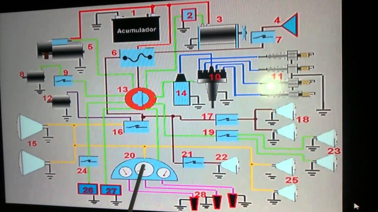 Diagrama El U00e9ctrico Automotriz