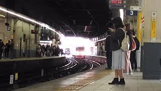 「1703F引退から一年...」名鉄1700系特急セントレア行き 金山駅到着