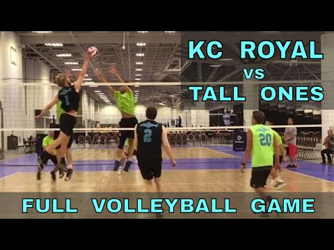 KC Royal vs Tall Ones (FULL GAME 2 Volleyball) - USAV 2017 Nationals