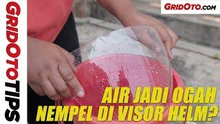 Cara Murah Bikin Efek Daun Talas di Visor Helm | How To | GridOto Tips