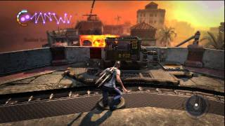 inFamous 2 Walkthrough  - Mission 21: Storm the Fort Gameplay [HD]