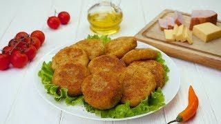 Картофельные зразы с ветчиной - Рецепты от Со Вкусом