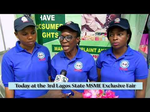Lagos State Ministry Of Commerce MSME Fair 2018