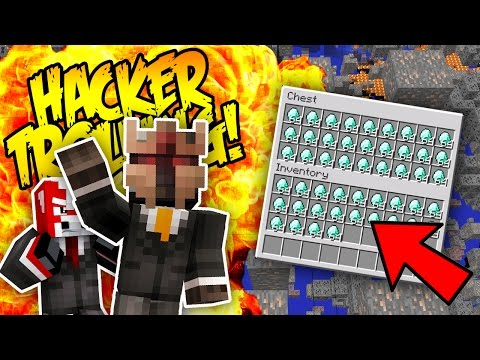 HUMILIATING XRAYING SCUMBAGS! (Minecraft Hacker Trolling)