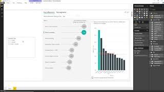 Power BI Key influencers visual
