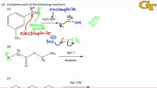 Predicting Products of SN2 Reactions