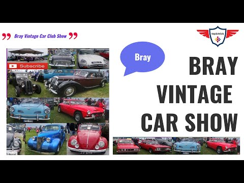 Bray Vintage Car Club Show & Picnic | Purple House Cancer Centre | Charity Partner | Bray Seafront.