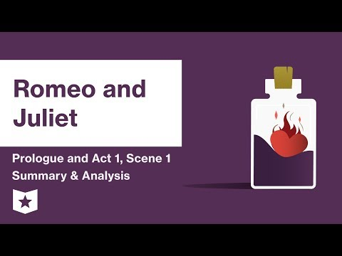 Romeo and Juliet by William Shakespeare | Prologue and Act 1, Scene 1 Summary & Analysis