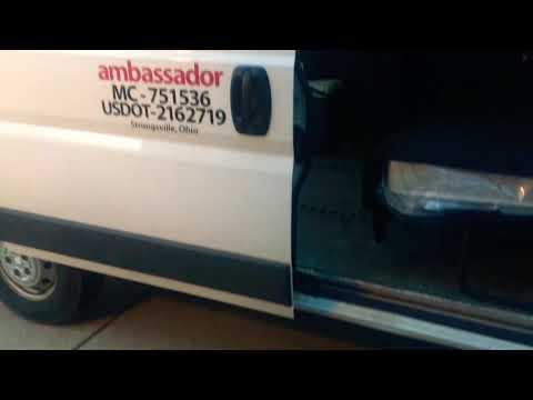 ambassador expedite van Ram Promaster