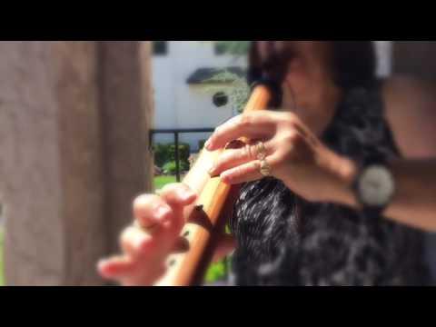 Wayfaring Stranger on Bm Flute played by Maria Calfa-DePaul