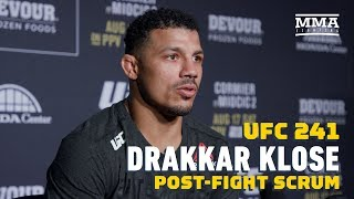 UFC 241: Drakkar Klose Calls Out Gregor Gillespie: 'No One Wants To Fight Him, I'll Fight Him'