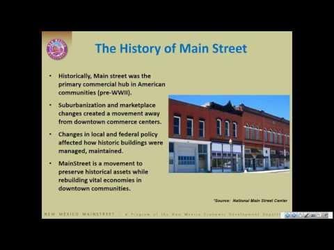 August 20: Asset Based Economic Development Part I