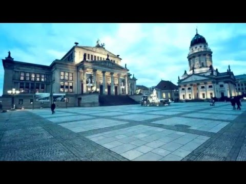 Popular sights of Berlin Germany