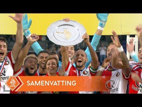 Highlights Johan Cruijff Schaal Feyenoord - Vitesse (5/8/2017)
