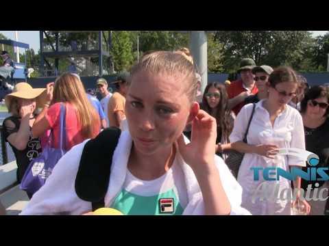 Vera Zvonareva Wins at 2017 US Open Qualifying