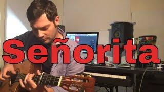 Shawn Mendes Camila Cabello Senorita - Acoustic Percussive Fingerstyle Guitar Cover Emilio Lanza.mp3