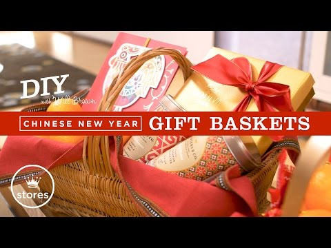 Chinese New Year Gift Basket | DIY with Will Brown