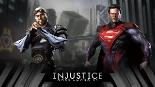 Injustice Gods Among Us - Zod Vs Superman (Very Hard)