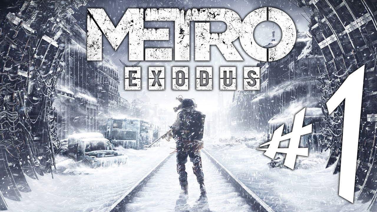 Metro Exodus - Parte 1: A Fuga de Artyom!!! [ PC - Playthrough ]