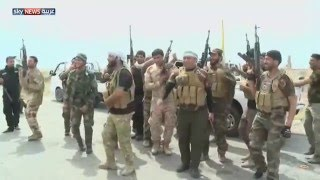 صد هجوم لداعش قرب سد سمراء