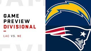Los Angeles Chargers vs. New England Patriots | Divisional Round Game Preview | Move the Sticks