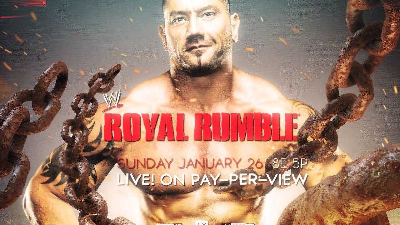 WWE Royal Rumble 2014 ...