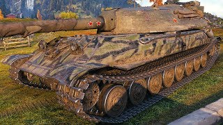 Object 705A - 152 mm GUN - World of Tanks Gameplay