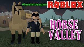 PC | ROBLOX | Horse Valley #1 // HORSES IN ROBLOX?!?!