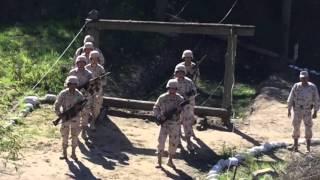 Servicio Militar entrenamiento parte 1