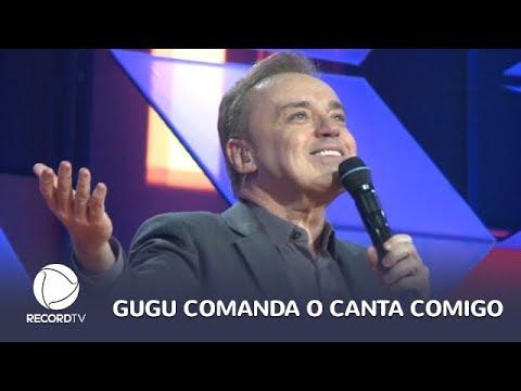 Canta Comigo estreia com Gugu Liberato