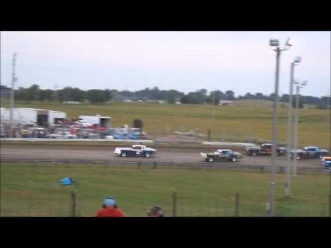 Sheyenne River Speedway Hobby stock 7/21/2013