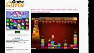 Top Game 2009 Block Party Free Dance Puzzle Game on GameCurve.com
