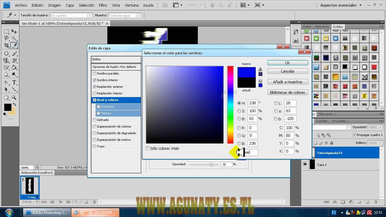 descargar efectos para textos photoshop cs4