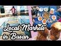 Gukje Market Street Food & Jagalchi Market - Busan South Korea Family Travel Vlog