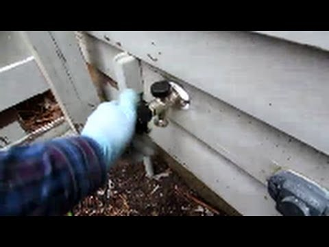 Replace Outside Sill Faucet Plumbing Tips Youtube