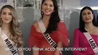 MISS UNIVERSE 2018 PRELIMINARY INTERVIEW