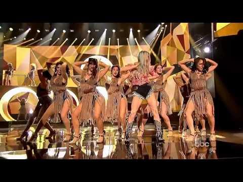 Pitbull Timber feat Ke$ha AMA 2013 2K