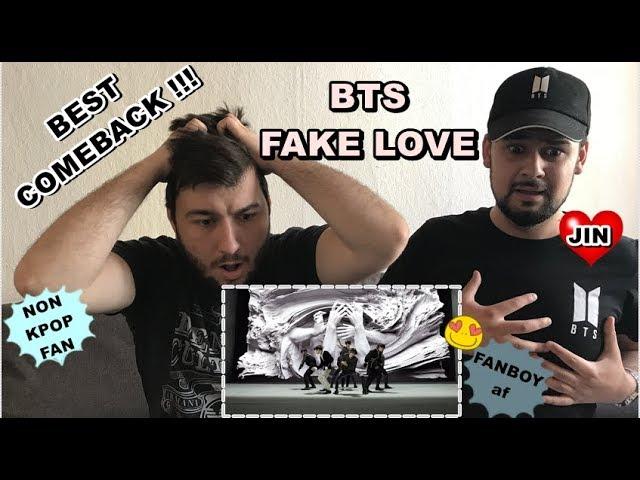 8K Thx Best Song Bts Fake Love Official Mv Reaction Fanboy With Non Kpop Fan German