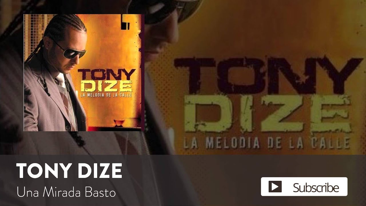 Tony Dize - Una Mirada Basto  [Official Audio]