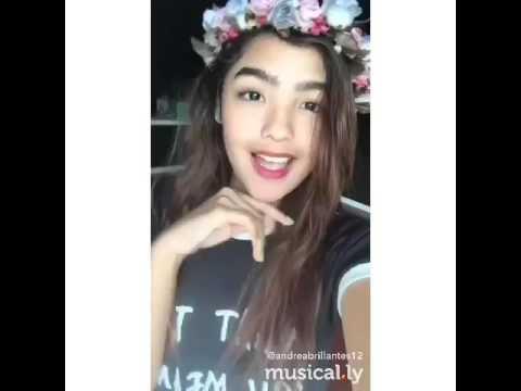 Dyosa ng buhay ko - Andrea Brillantes (Musical.ly)