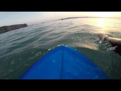 "POV Surfing: Arrifana || 5'2"" Twin fin"