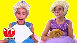 WE GOT A PUPPY! 🐶 Fun Princess Shopping Pranks - Princesses In Real Life | WildBrain Kiddyzuzaa